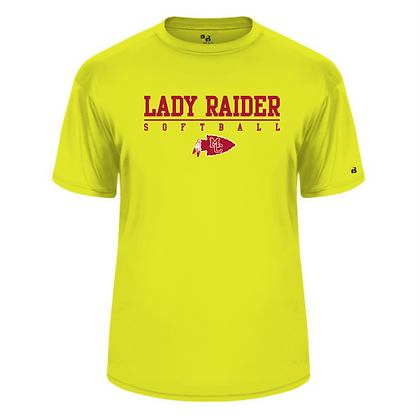 Badger Dri Fit T -Safety Yellow