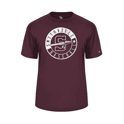 Badger Dri Fit T -Maroon