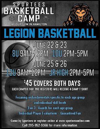 Legion Basketball Camp 2020