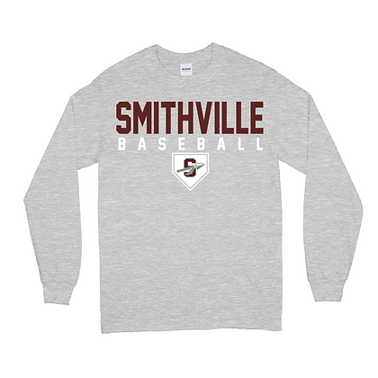 Gildan Smithville Baseball LS T