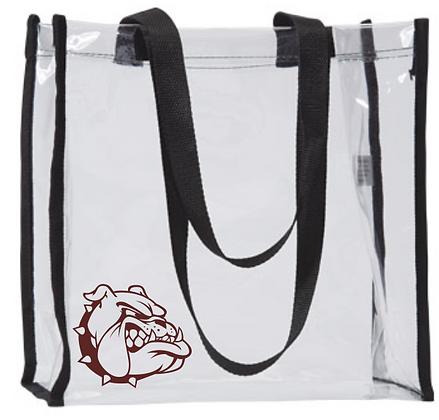 OAD Clear Tote Bag W/ Aggie