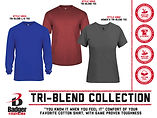 Badger Tri-Blend Collection