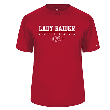 Badger Dri Fit T -Red