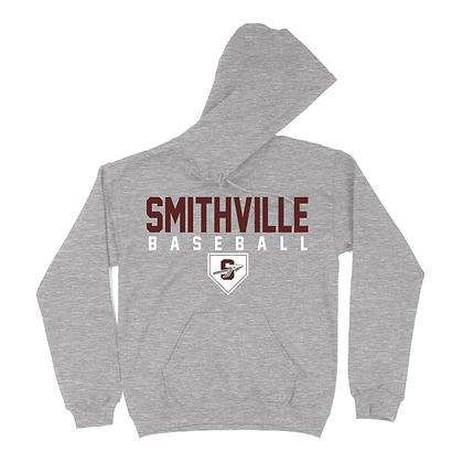 Gildan Smithville Baseball Hoodie