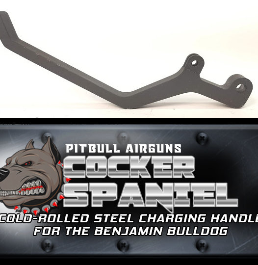 Cocker Spaniel Steel Charging Handle