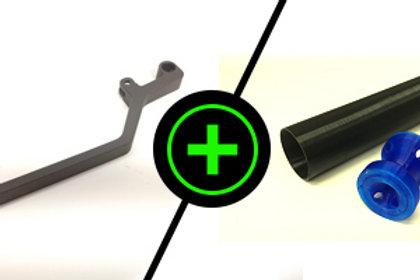 Steel Charging Handle + DePinger Combo