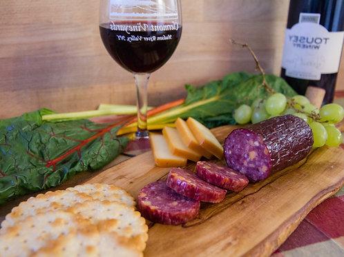 Elk Cheddar Burgundy Summer Sausage (6oz)