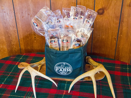 Sausage Sampler Gift Bag    with 2 Add-ons Prices start at