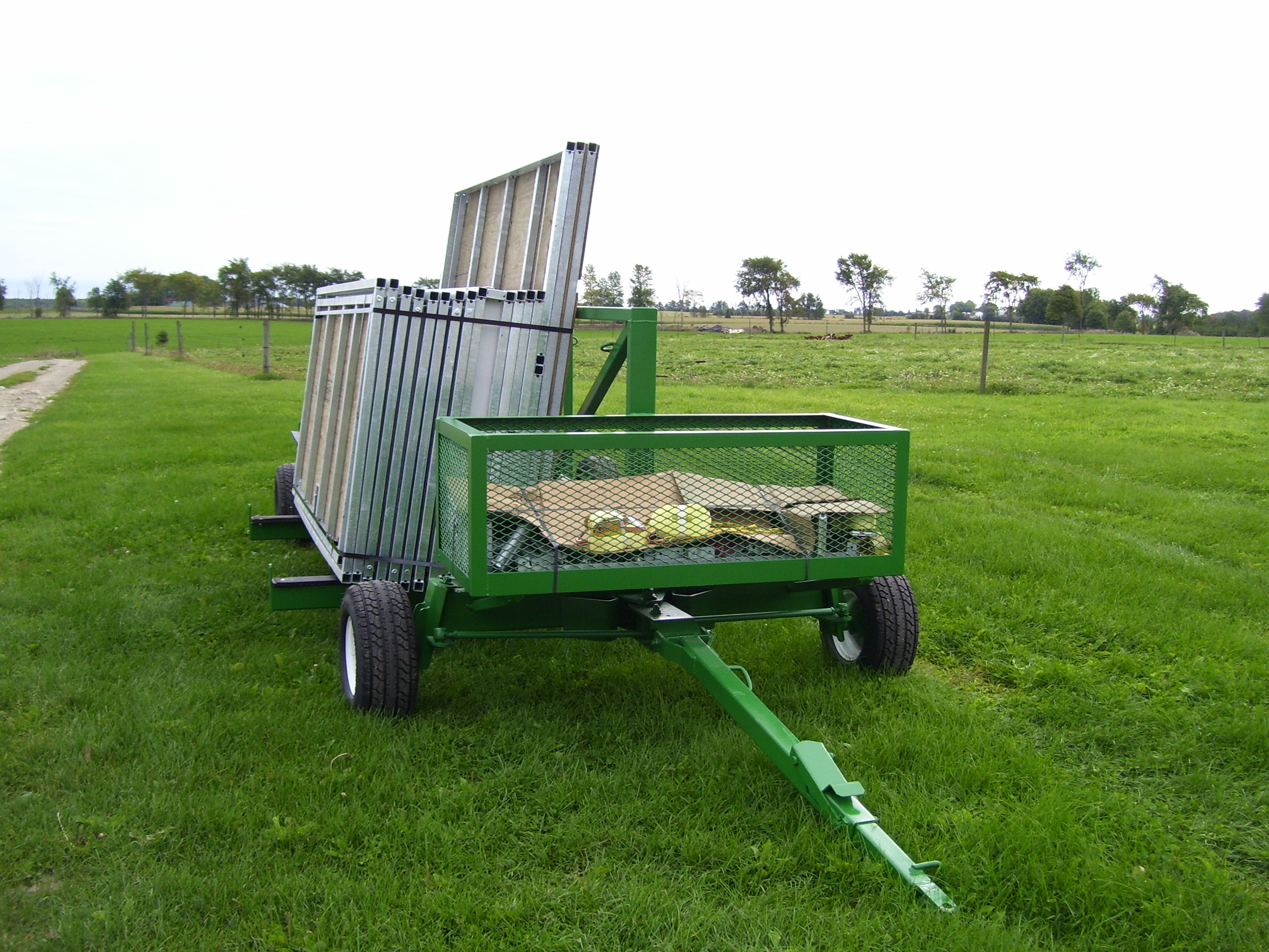Panel Cart for Portable Setup