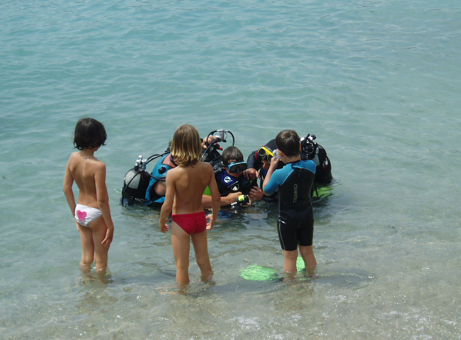 Immersione anche per i piccoli