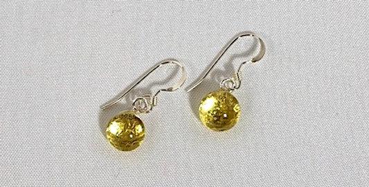 Chardonnay Crystal Pierced Earrings