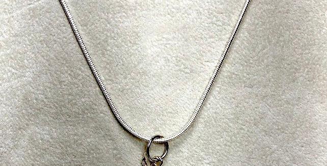 Silver Japanese Maple Pendant
