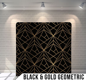 Black Gold Geometric pillow unwatermark.