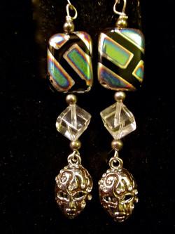 Mask earrings from Venice