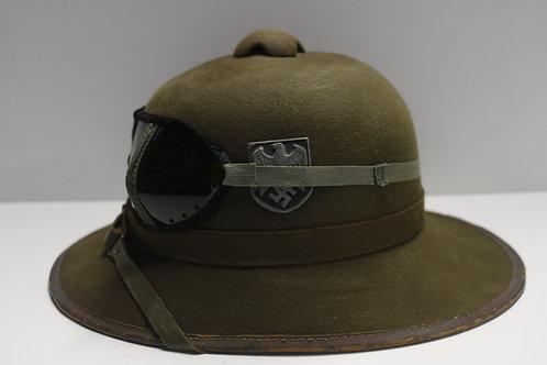 Wehrmacht DAK Felt Tropenhelm