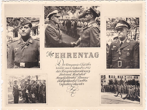 Large sized Picture Ehrentag Luftwaffe