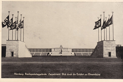 Propaganda Postcard-Nürnberg, Reichsparteitaggelände-Zeppelinfeld