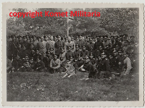 early Allgemeine SS Group Picture