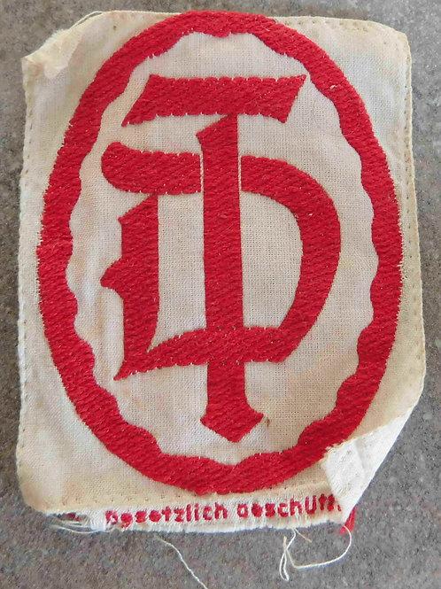 Stoffabzeichen Deutscher Turner Bund
