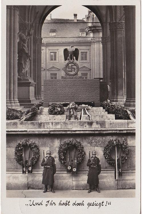 Postcard Feldherrnhalle Münich