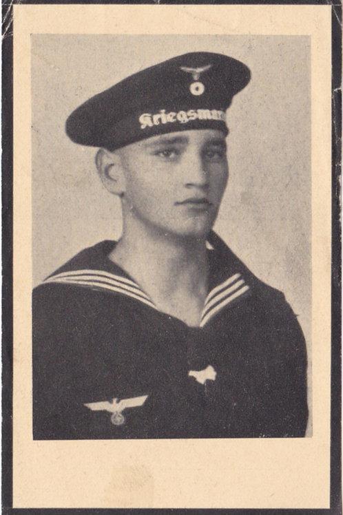 U-Boat (U-426) Obergefreiter death card