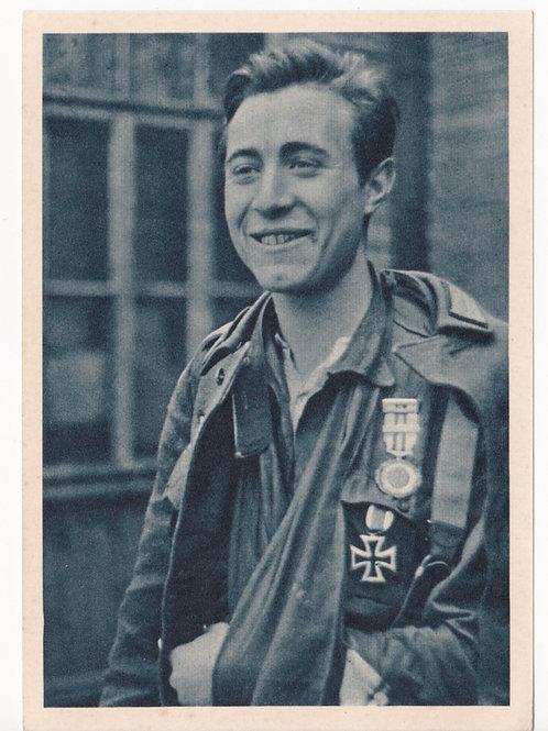 """Postcard Spanish Blue Division """"Der Tapfersten Einer"""""""