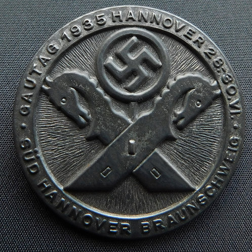 Tinnie Gautag 1935 Süd Hannover -Braunschweig