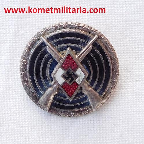 Hitlerjugend Shooting Badge/Schiessauszeichnung Frank & Reif