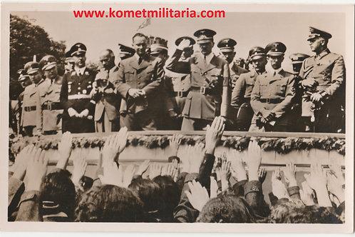 Postcard/Postkarte Adolf Hitler Deutsches Turn und Sportfest Breslau 1938