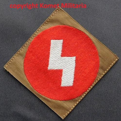 Deutsches Jungvolk- Hitlerjugend Sieg Rune Patch