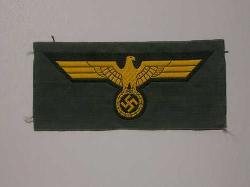 Wehrmacht Coastal Artillery breast eagle bevo