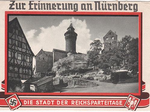 Propaganda Postcard Nürnberg-die Stadt der Reichsparteitage