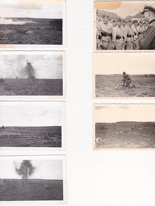 7 pictures 10.komp/Sturmregiment Leutnant Kayser training for the Kreta assault