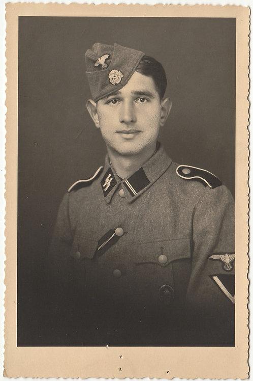 SS Portrait decorated Sturmmann