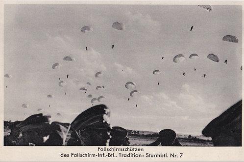 Fallschirmjäger-Infanterie- Bataillon postcard