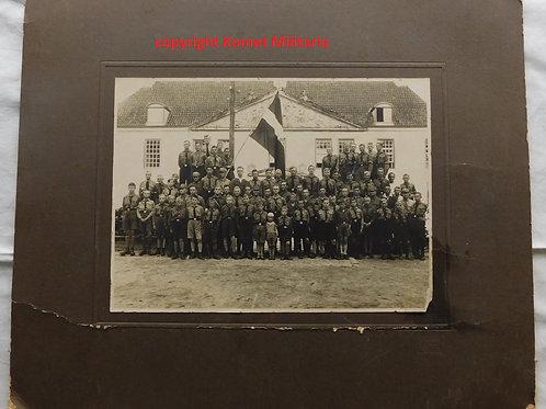 Large Hitlerjugend Group Picture