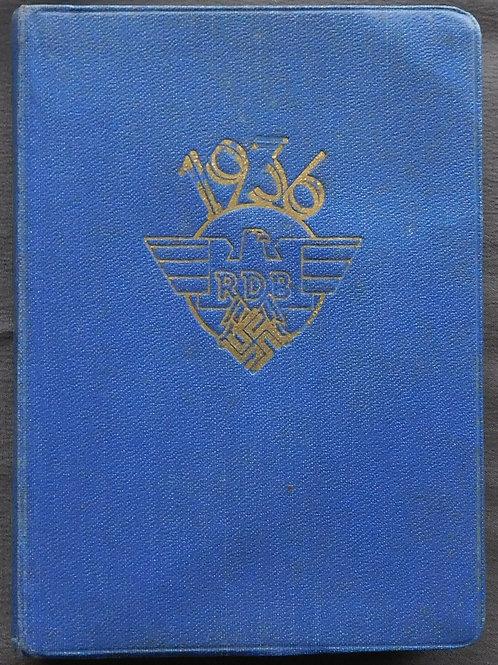 Reichsbund der Deutschen Beamten Kalender 1936
