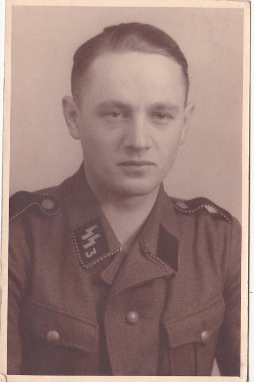 """SS Portrait SS Regiment 3 """"Der Führer"""""""