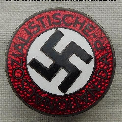 NSDAP Parteiabzeichen Hersteller M1/8 Ferdinand Wagner