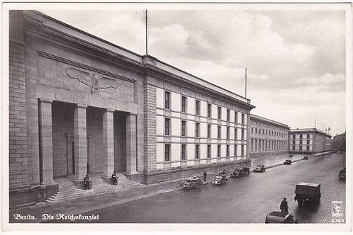 Postcard Berlin, Reichskanzlei