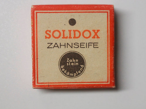 German Army Solidox toothpaste