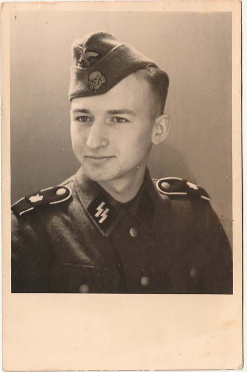 SS LSSAH Portrait with sidecap
