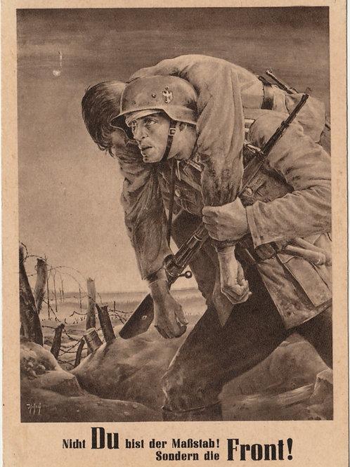 Propaganda Postcard Tag der NSDAP des Generalgouvernement Krakau