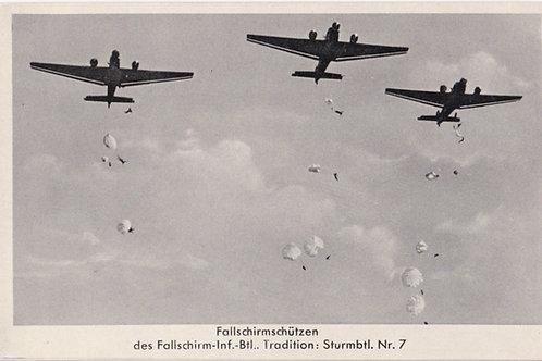Fallschirmjäger-Infanterie-Bataillon postcard