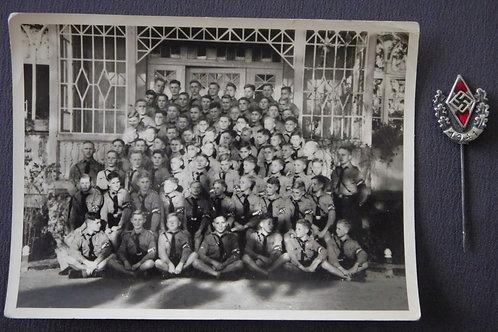 Hitlerjugend Siegernadel 1941+ HJ group picture