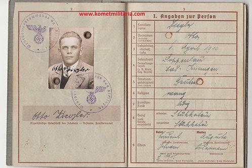 Wehrpass Obergefreiter kia Ukraine-Charkov 1942 Infantry Regiment 268