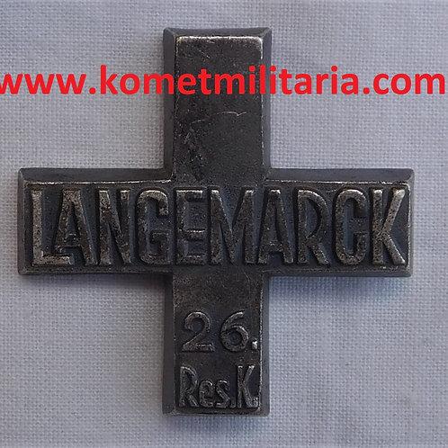 Langemarck Kreuz des 26. Reserve-Korps
