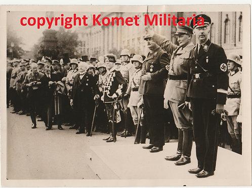 Period Press Picture Himmler, Göring, von Mackensen Prussian State Council