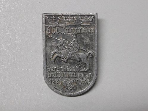 650th Anniversary of the Battle of Worringen badge (Assmann& Söhne)