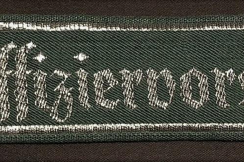 """Wehrmacht """"Unteroffiziersvorschule"""" cuff title"""